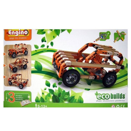 Engino Eco todoterrenos Set de construcción