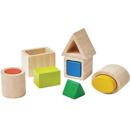 Geo Matching blocks. Plan Toys