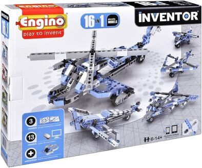 Inventor 16 en 1 Aircrafts Models